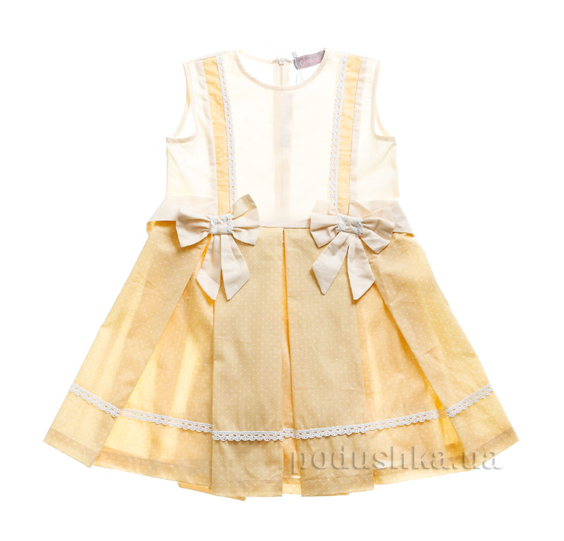 Платье Kids Couture 3-056 в желтую точку