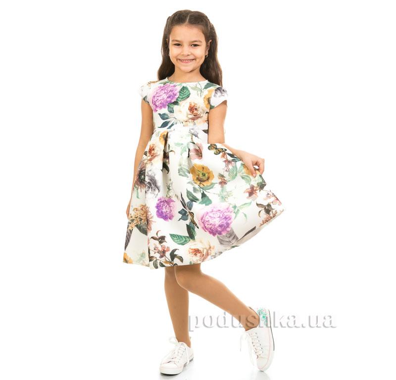 Платье Kids Couture Платье 1-001 молочные цветы