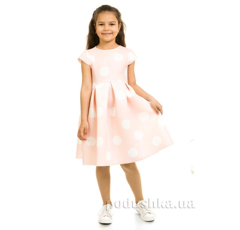 Платье Kids Couture Платье 1-001 розовый горох