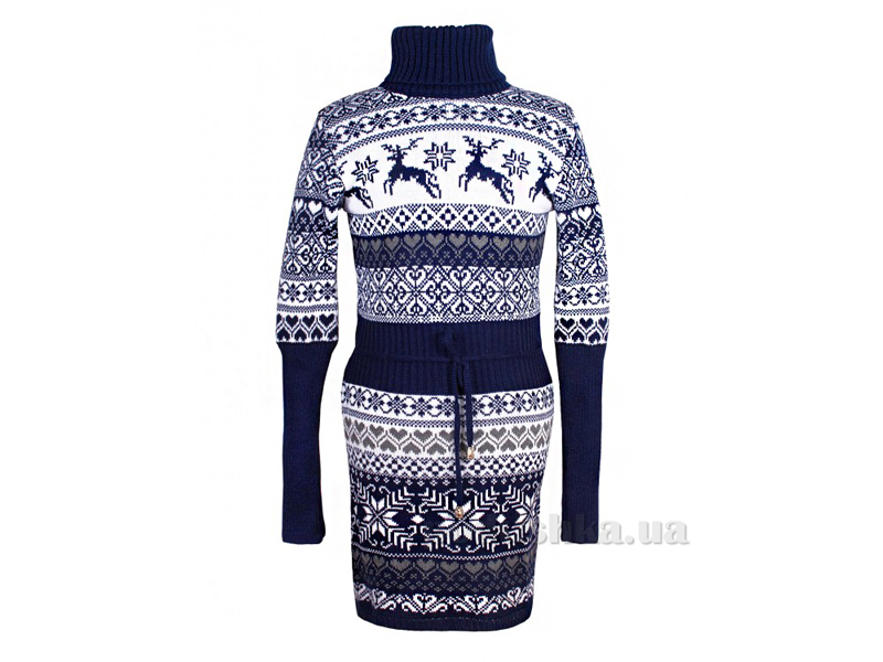 Платье Лапландия Tashkan 1148 темно-синий