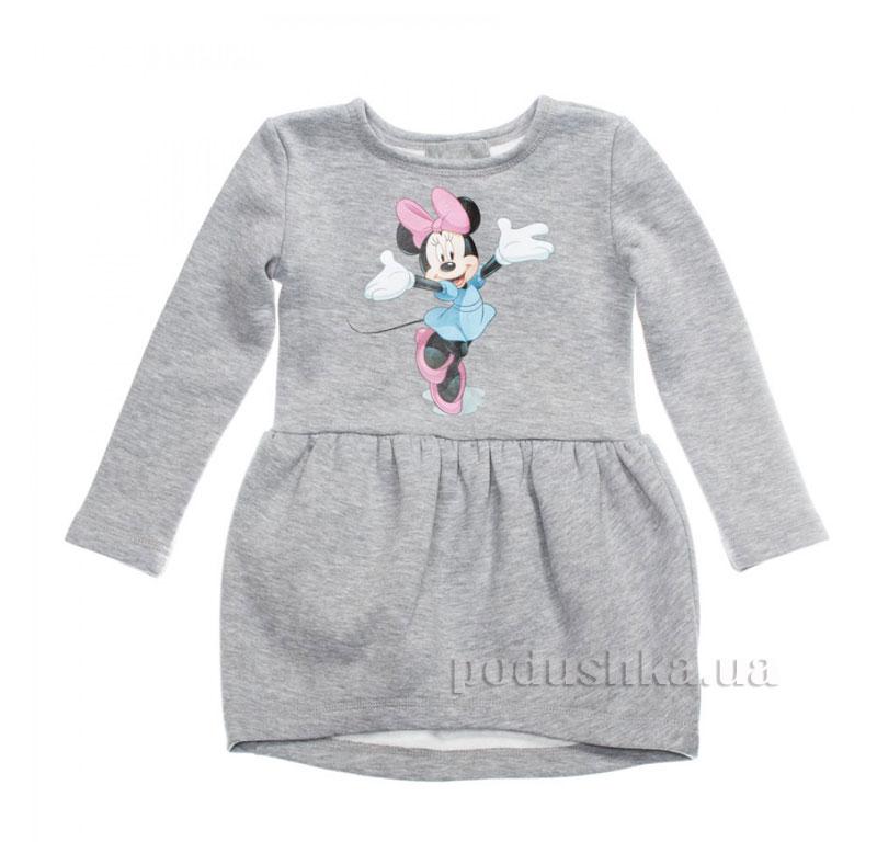 Платье Мики Маус Kids Couture 16-07 серое