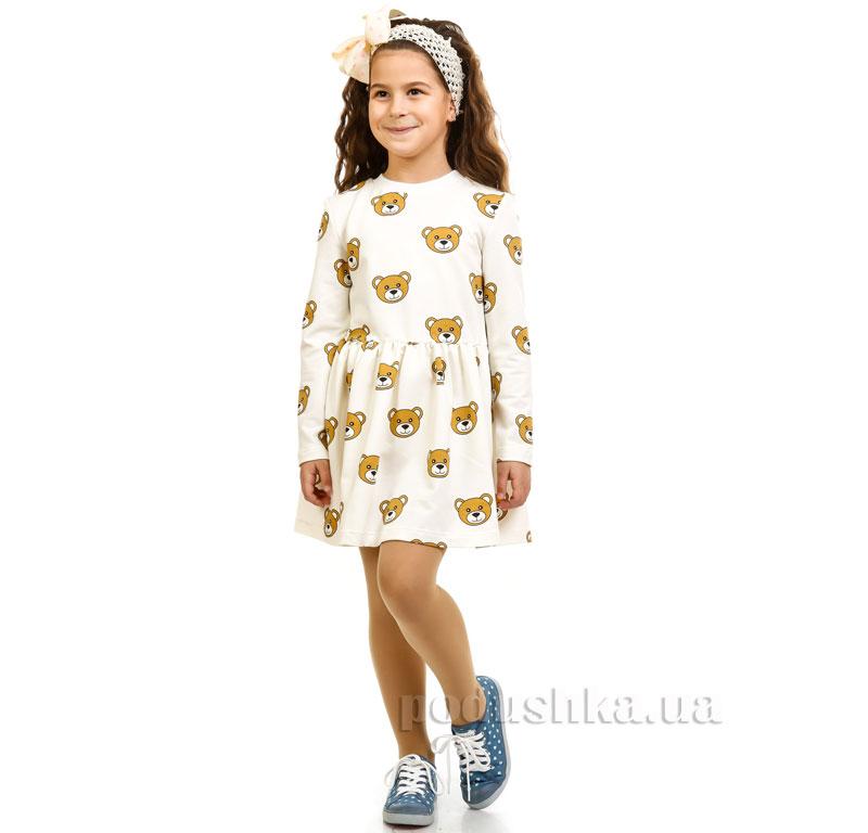 Платье Мишки Kids Couture молочный
