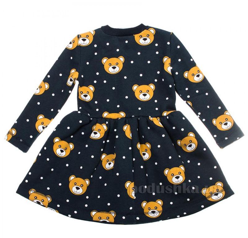 Платье Мишки Kids Couture темно-синее