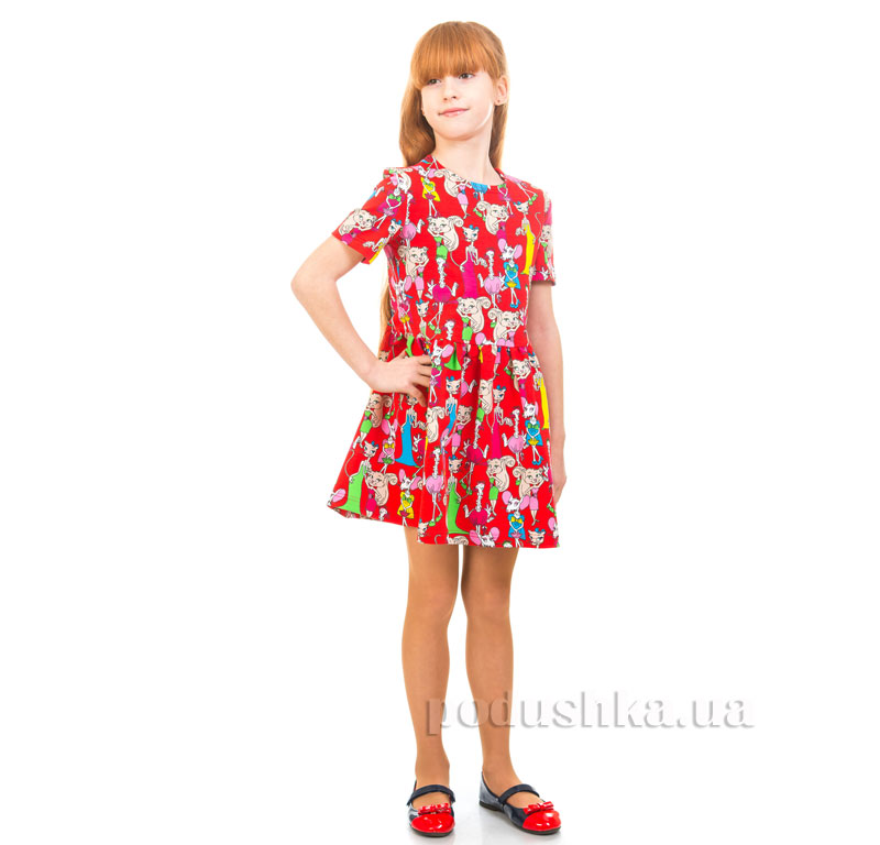 Платье Мышки Couture красный