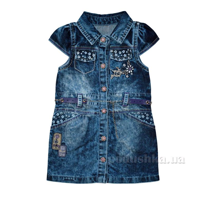 Платье Overdo Kids 4018 синий
