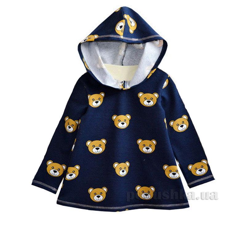 Платье с капюшоном Витуся 1330083