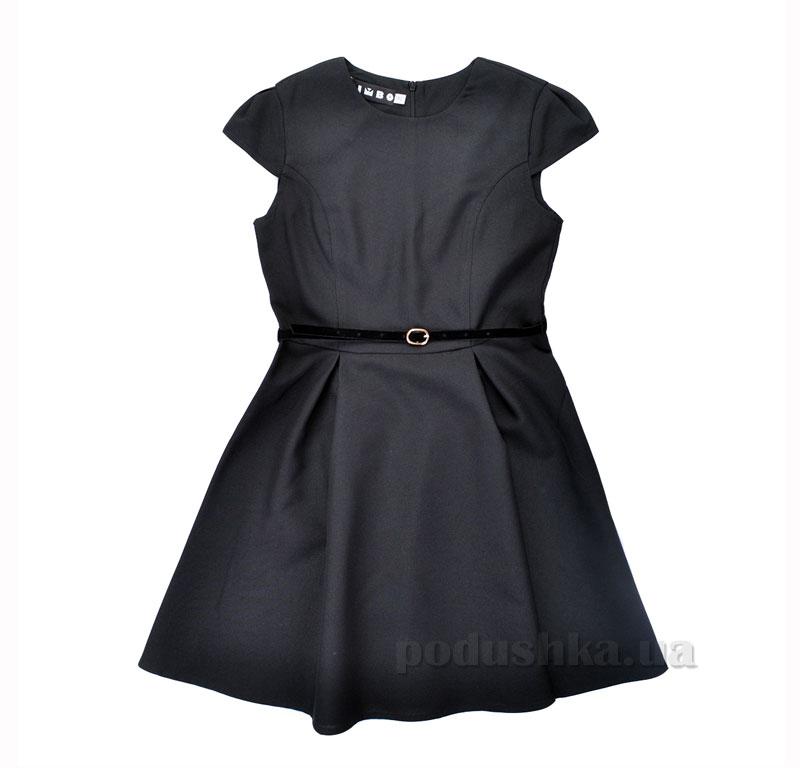 Платье школьное Alice Timbo P026022 черное