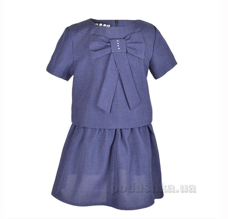 Платье школьное Belle Elsa P025971 синее