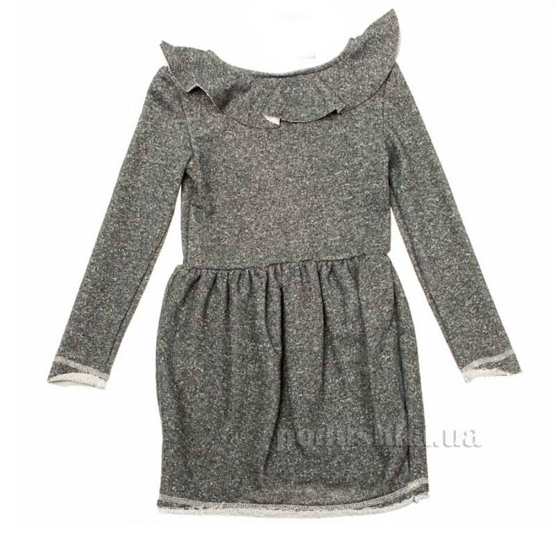 Платье трикотажное Kids Couture темно-серое
