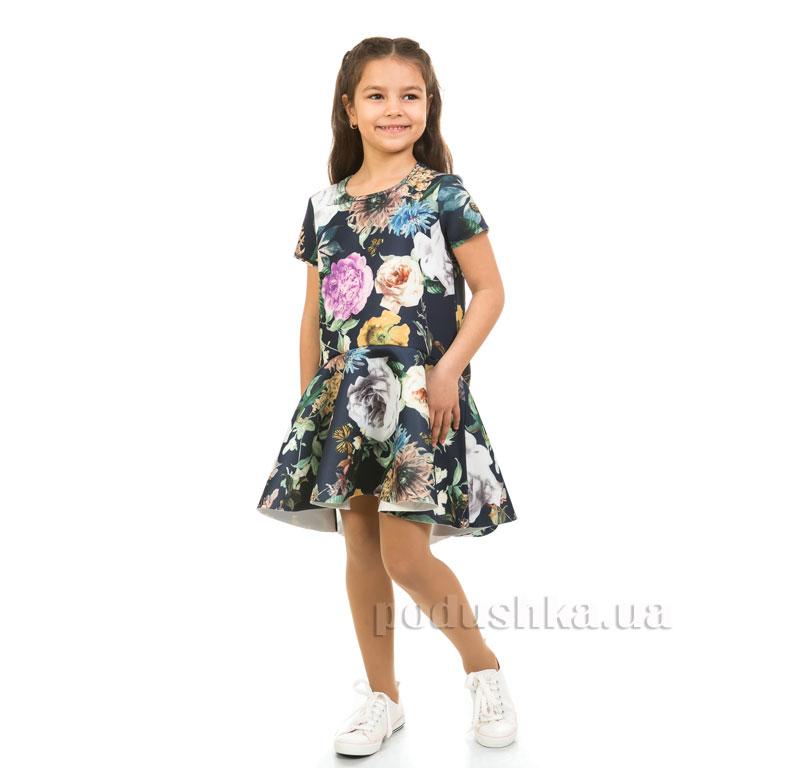 Платье Цветы Kids Couture 17-275 синее
