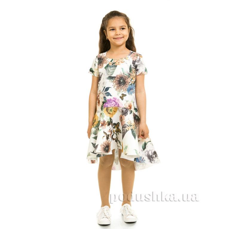 Платье Цветы Kids Couture 17-275 молочное