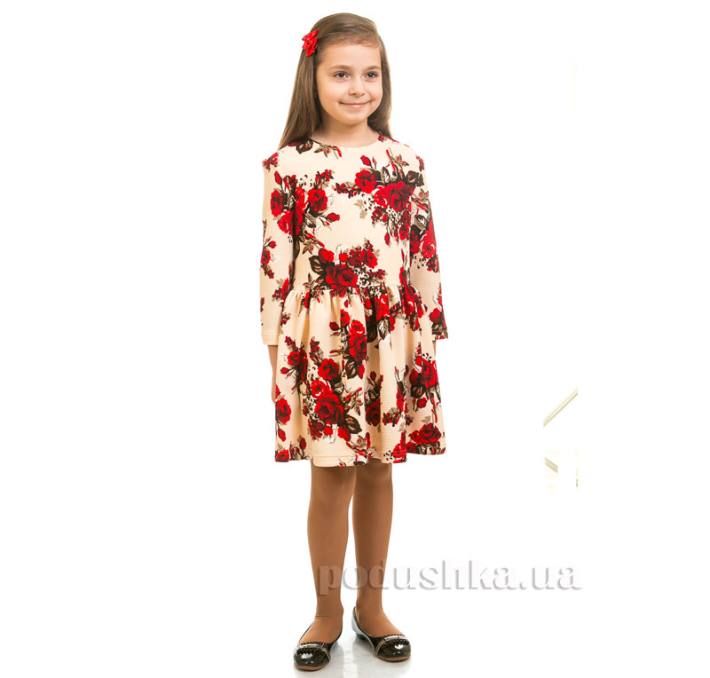 Платье Цветы Kids Couture кремовое