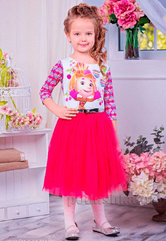 Платье Zironka Фиксики 113-3 розовое