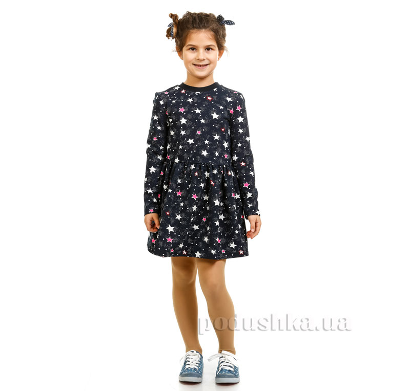 Платье Звезды Kids Couture синее 38 (Р-140, ОГ-68, ОТ-58) Kids Couture