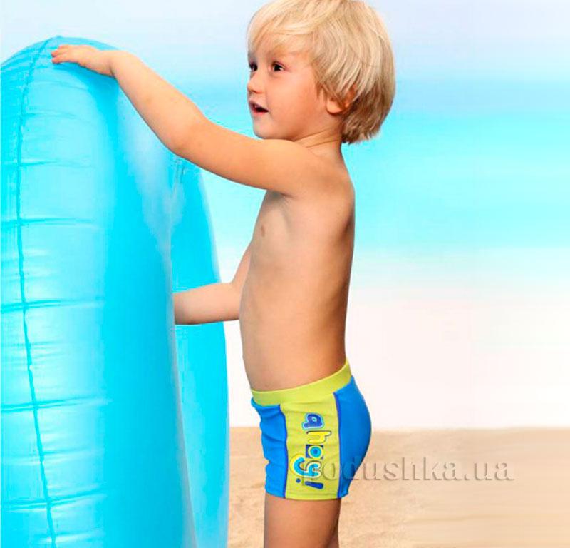 Плавки для мальчика Ahoy Keyzi голубые