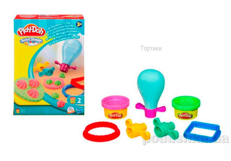 Play-Doh Игровой набор пластилина Инструменты кондитера в ассортименте 3 вида Hasbro 36813