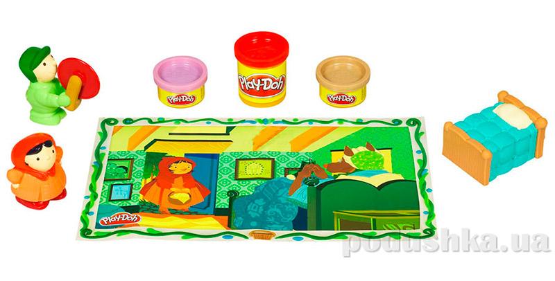 Play-Doh Игровой набор пластилина Сказка Hasbro 24396