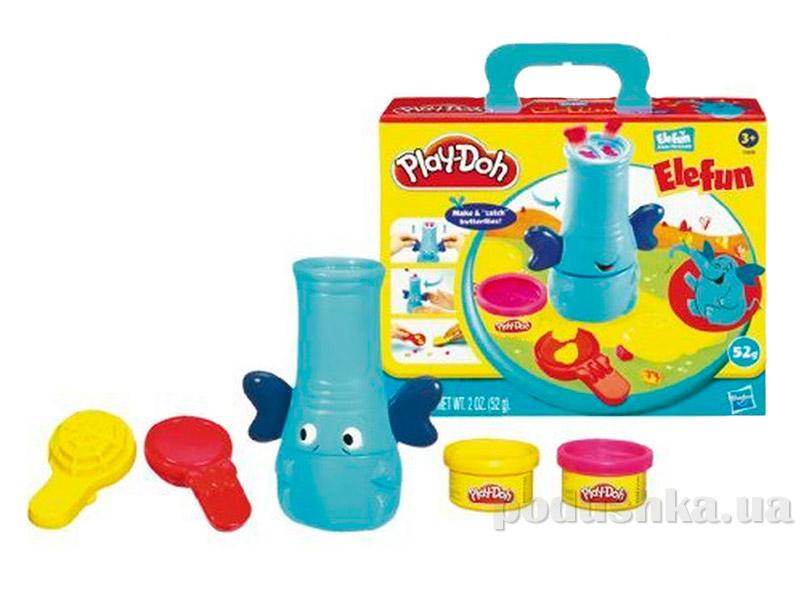 Play-Doh Набор пластилина Elefun Элефан Hasbro 24093