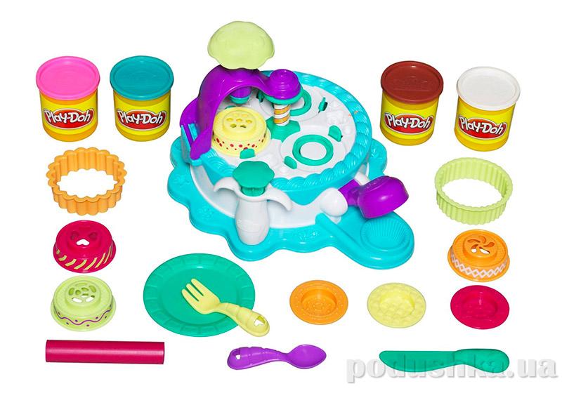 Play-Doh Набор пластилина Фабрика тортиков Hasbro 24373