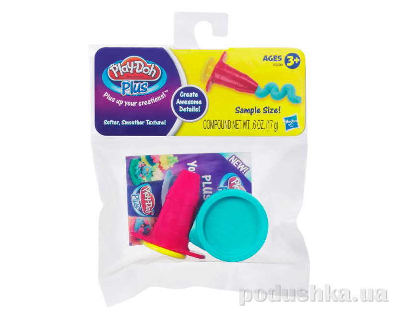 Play-Doh Plus Набор пластилина Плей-До Плюс A2593 Hasbro