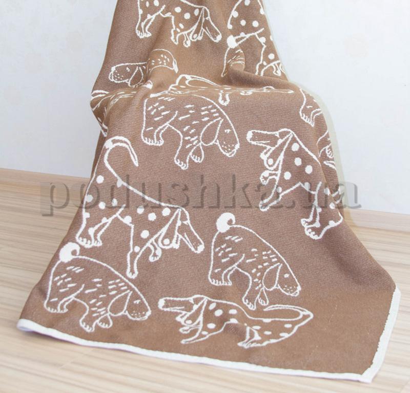 Плед Barker Textiles Собачки