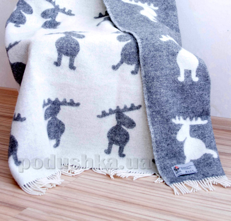 Плед Barker Textiles Весёлые лоси