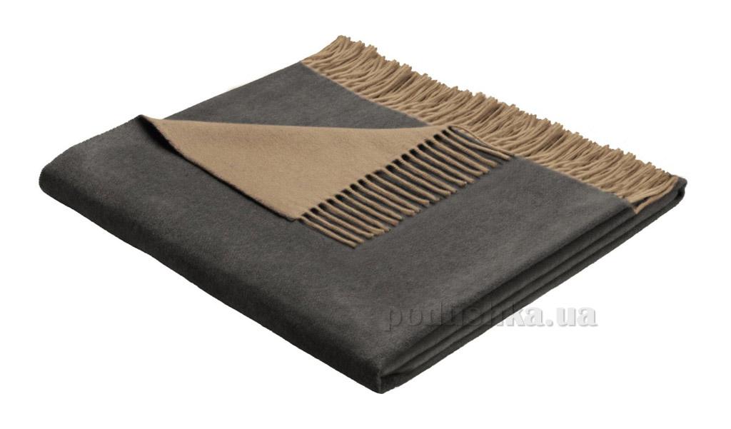 Плед Bocasa Cashmere-plaid camel-anthrazit 648129