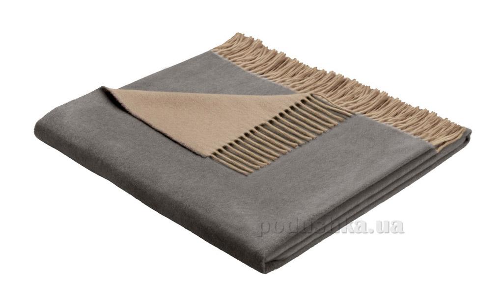 Плед Bocasa Cashmere-plaid sand-grau 648112