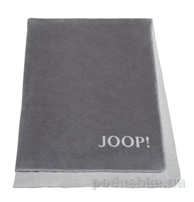 Плед Bocasa JOOP! MCS тёмно-серый