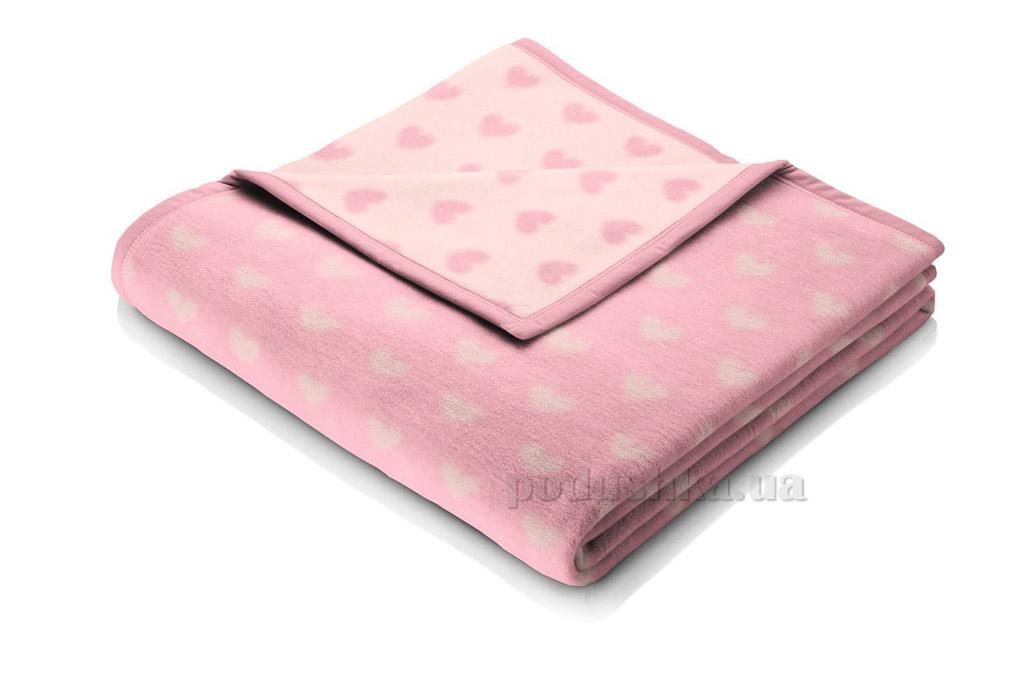 Плед детский Bocasa Baby cotton Herzblatt 649713