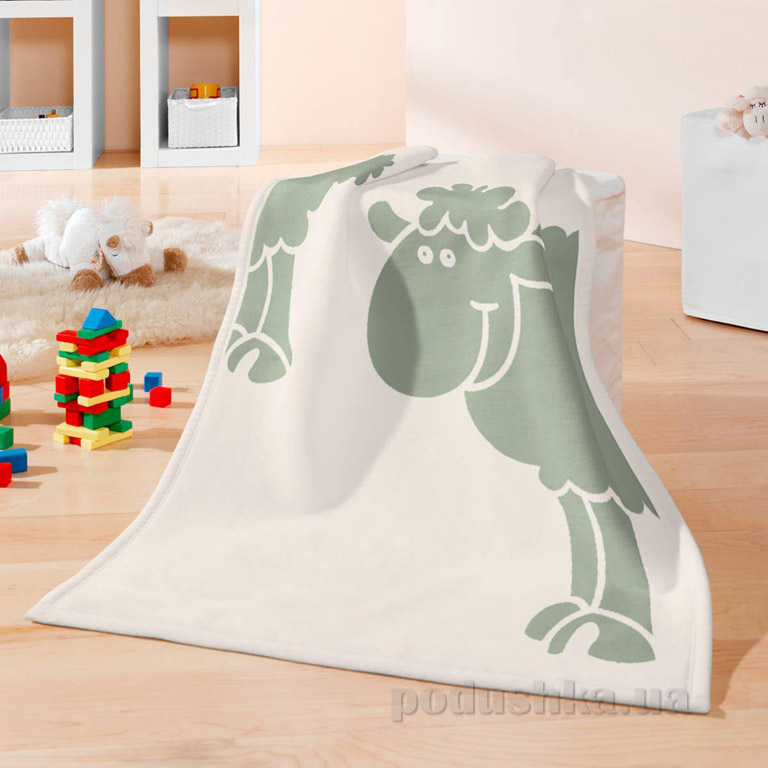 Плед детский Bocasa Bio cotton kids Schaf 630841