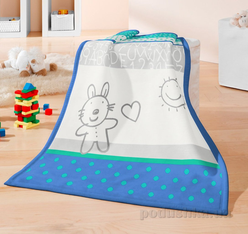 Плед детский Bocasa Kids cotton Bunny 630780