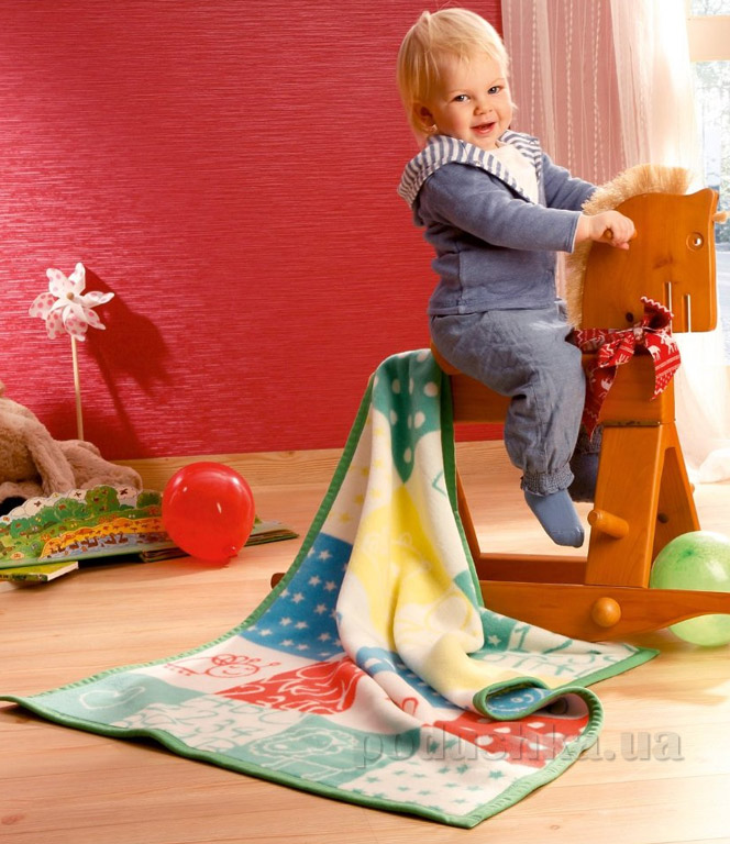 Плед детский Bocasa Kids cotton Playground 630773