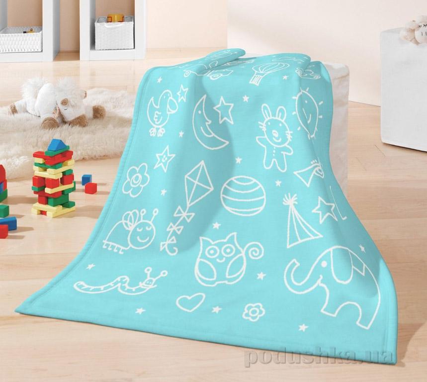 Плед детский Bocasa Kids cotton Toys 630797