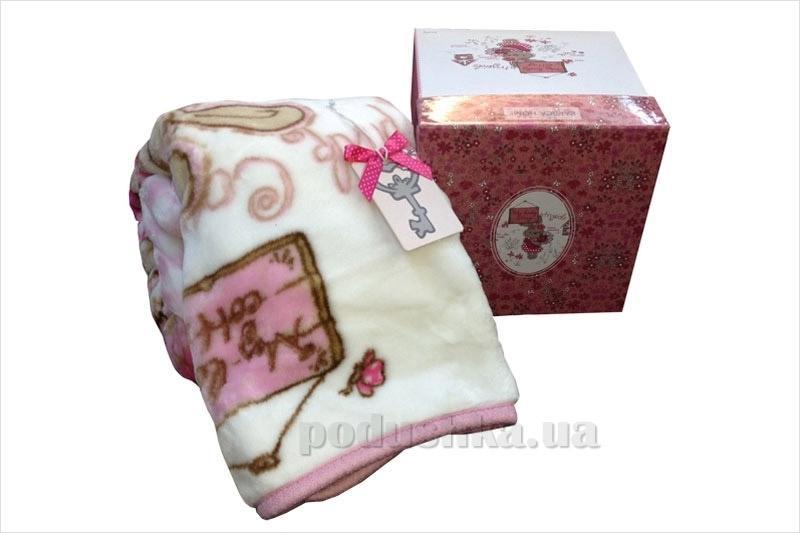 Плед детский Karaca Lovely розовый