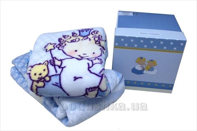 Плед детский Karaca Mini синий