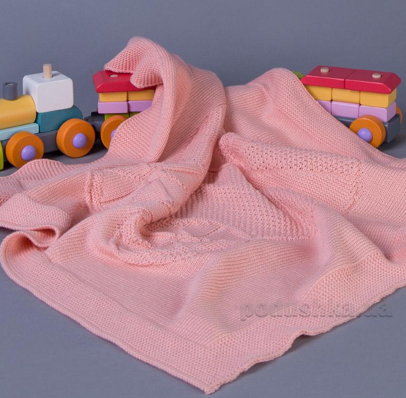 Плед детский Киянка Колясочка розовый К70П