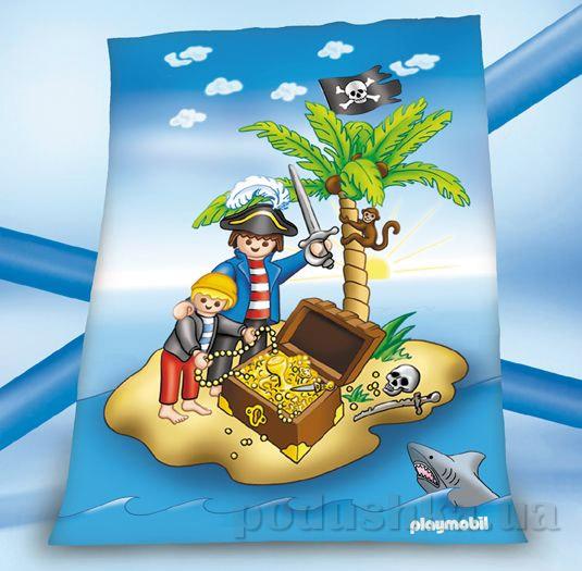 Плед детский Herding Playmobil Остров сокровищ