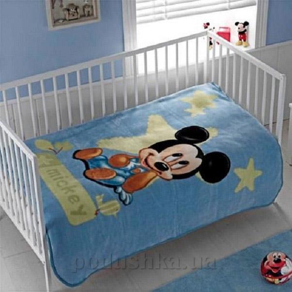 Плед детский TAC Mickey baby 2009 синий