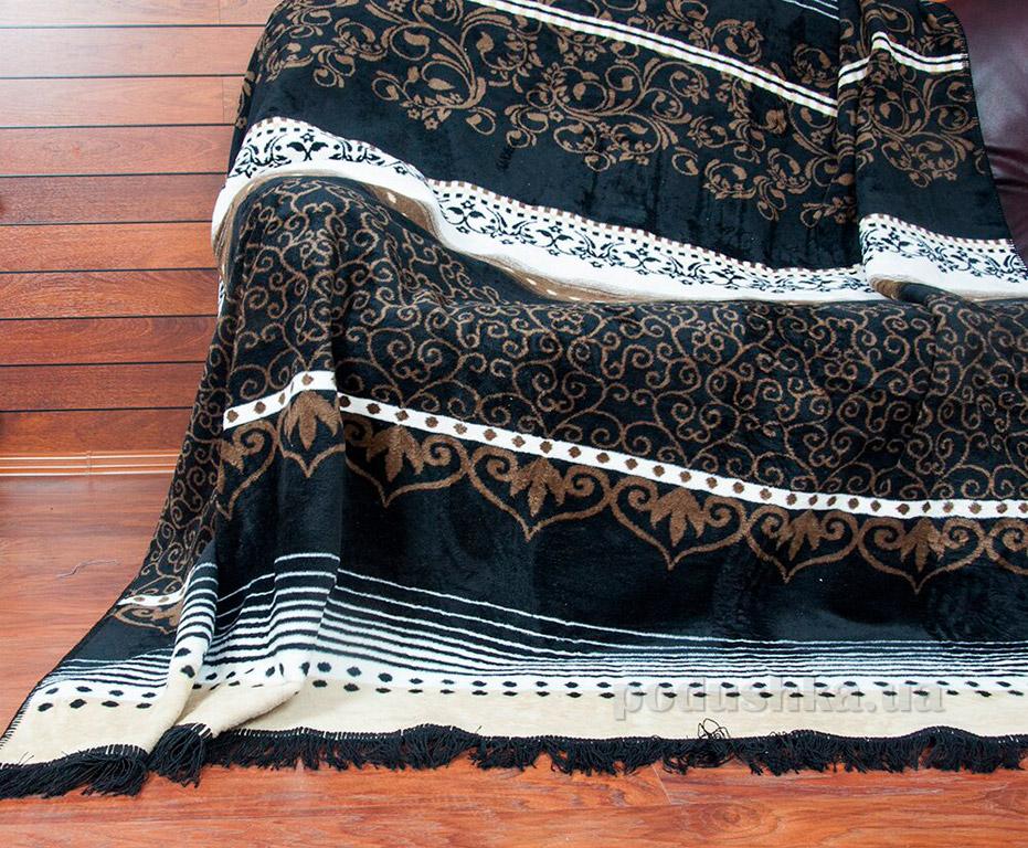 Плед Lotus Grace коричневый 200х220 см  Lotus