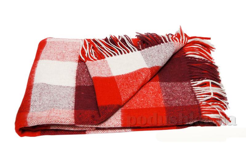 Плед Палермо Влади PLM-08.02 белый+красный+бордовый