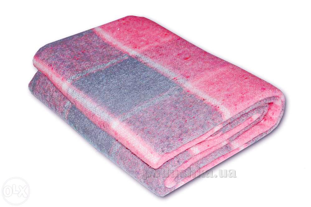 Плед Влади Palermo клетчатый розовый PLM-08.04