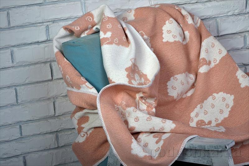 Плед-одеяло Барашки WOT ALE 004/4