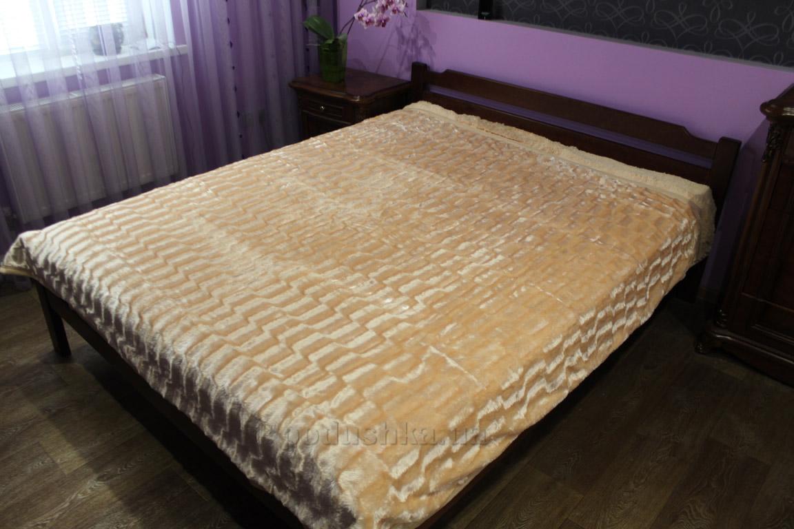 Плед-покрывало меховое Dreams Malva 061-03 кремовое