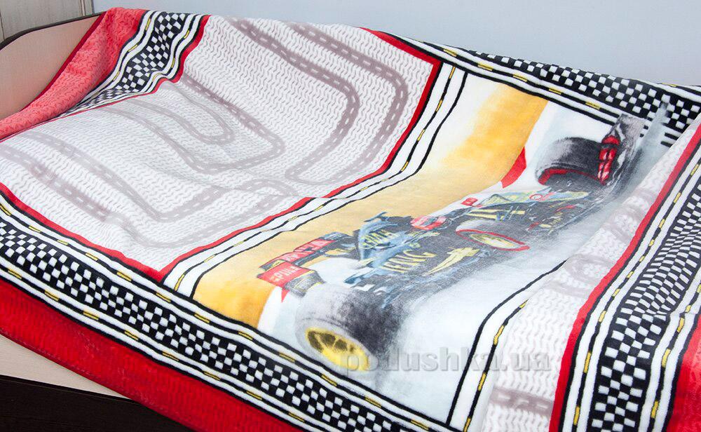 Плед-покрывало подростковое Karaca Racing 160х220 cм  Karaca home