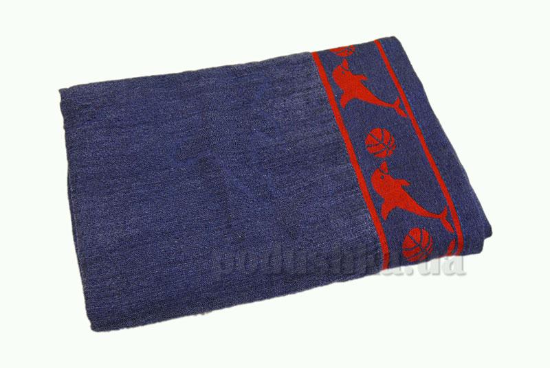 Пляжное полотенце Belle-Textile Дельфин Blue