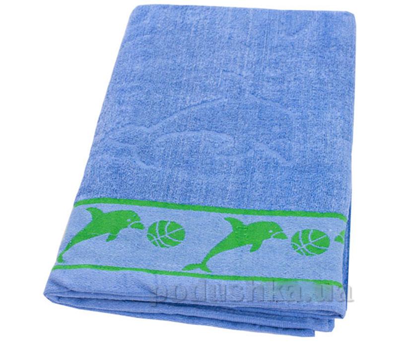 Пляжное полотенце Belle-Textile Дельфин Light blue