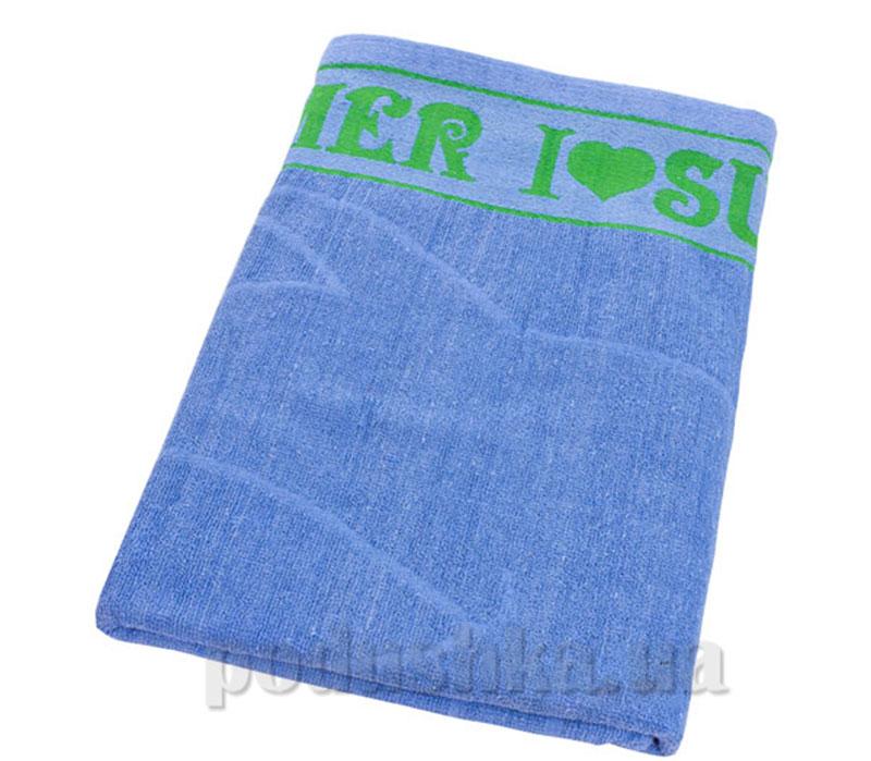 Пляжное полотенце Belle-Textile Лето Light blue