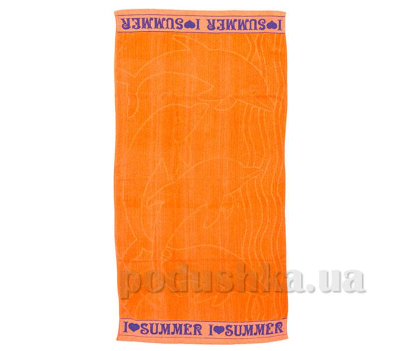 Пляжное полотенце Belle-Textile Лето Orange