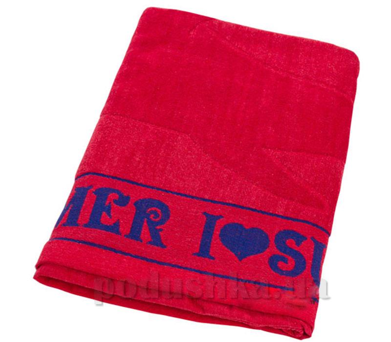 Пляжное полотенце Belle-Textile Лето Red